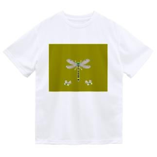蚊が嫌い Dry T-shirts