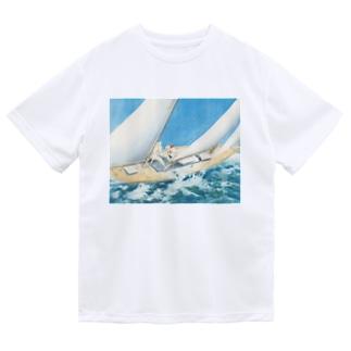 ルイ・イカール《ヨットレース》 Dry T-Shirt