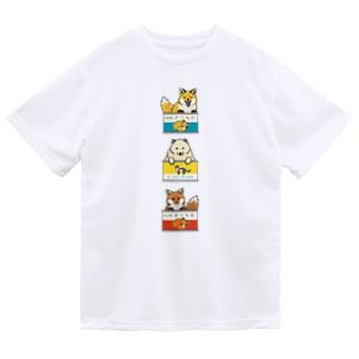 きつね缶 3点セット Dry T-shirts