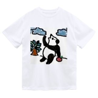 パンダちゃんの休日 Dry T-Shirt