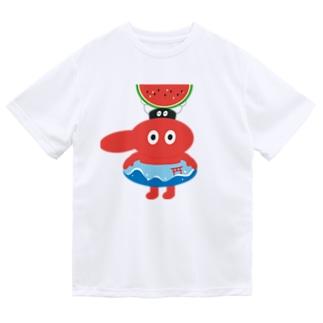 てんぐちゃん 〜夏〜 Dry T-shirts