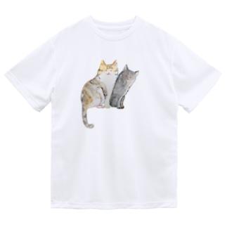 ねこちゃん姉妹 Dry T-Shirt