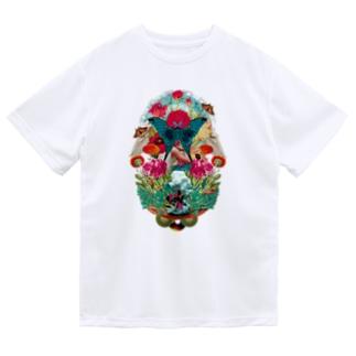コラージュTee(黒ロゴ) Dry T-shirts