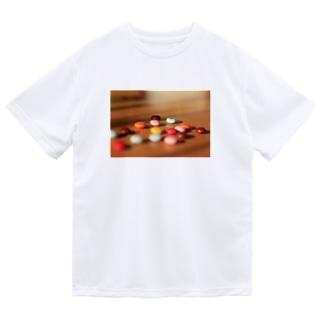 マーブルチョコ Dry T-Shirt
