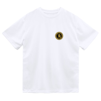 DEVGRU ライオン丸型2(ワンポイント) Dry T-shirts