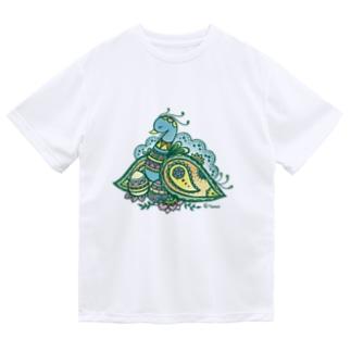 ヘナアート 孔雀 Dry T-Shirt