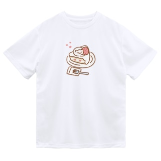 ショートケーキおキャット Dry T-Shirt