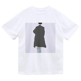後ろ姿【油彩】 Dry T-shirts