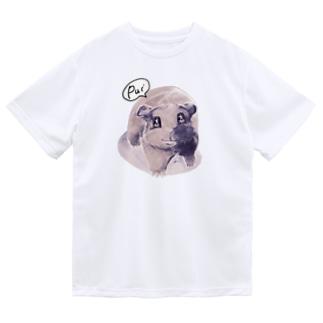 トテトテ-ミルキー Dry T-shirts