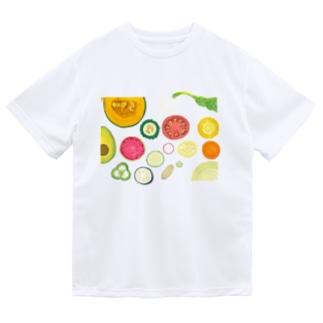 野菜の断面 Dry T-Shirt