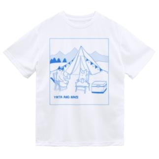 ヤタ&ナギ(キャンプ) Dry T-shirts