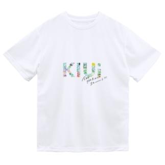のが(のがちゃんねる)のKIUi1周年記念グッズ Dry T-Shirt