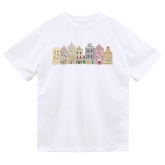 オランダ街B Dry T-shirts