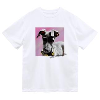 World everybody hello.|イタグレ Dry T-Shirt