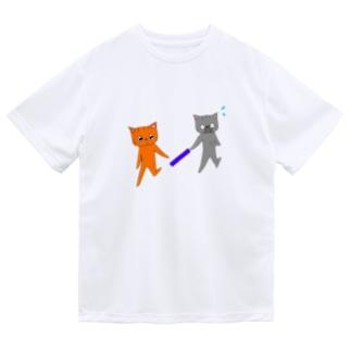 バトンタッチ!! Dry T-shirts