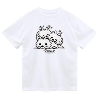 いつでも待機中のつづき_F*L配置 Dry T-shirts