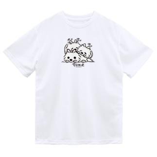 いつでも待機中のつづき_F Dry T-shirts