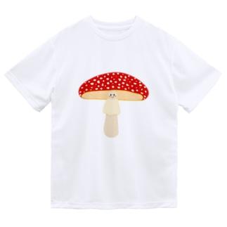 ベニテングタケ Dry T-Shirt