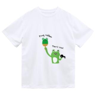 卓球 カエルラバー ドライTシャツ