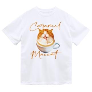 キャラメルマッキャット Dry T-shirts