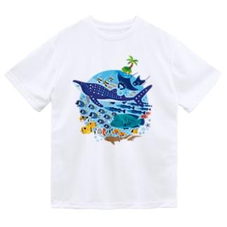 暖かい海の魚たち Dry T-Shirt