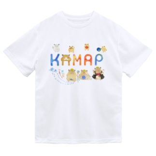 【KAMAP】カラフルKAMAP Dry T-Shirt