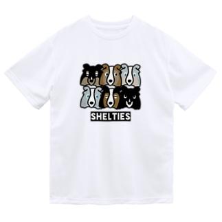 シェルティーず Dry T-Shirt