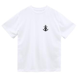 大日本帝国海軍軍記章(ワンポイント 黒) Dry T-Shirt