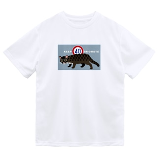KEEP40IRIOMOTE水色 Dry T-Shirt
