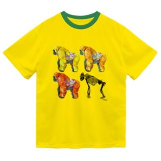 ゴリラとホネ Dry T-Shirt