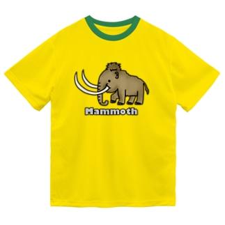 マンモス ドライTシャツ