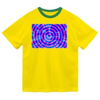 中野サブカルチャア(ぐるぐる) Dry T-shirts