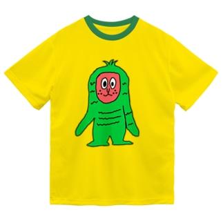 スイカザル!! Dry T-Shirt