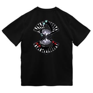 扇扇桔梗 艶 ドライTシャツ