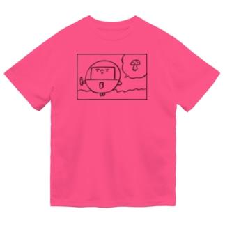 マル キノコ Dry T-Shirt