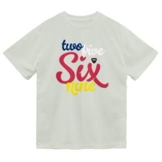 twofiveSixnine2569 Dry T-shirts