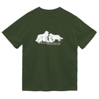 🔶bjチャリティー🔶キャバリア Family*cavalier_charity series ドライTシャツ