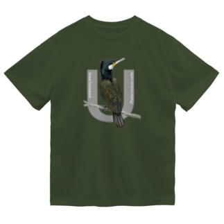 カワウ Dry T-Shirt