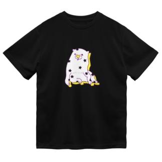 あの犬/パチパチ バナナ Dry T-Shirt