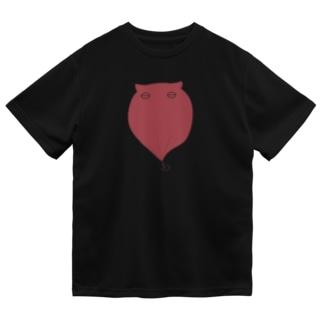 メンダコ(赤) Dry T-Shirt