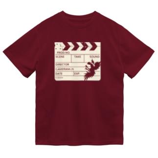 カチンコ(クリームインク) Dry T-Shirt