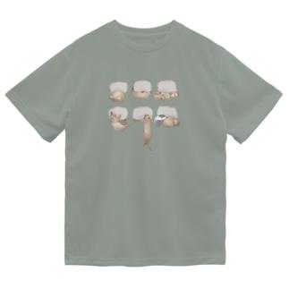 占拠法 Dry T-shirts
