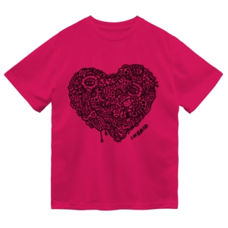 ハートの中の人生 Dry T-Shirt