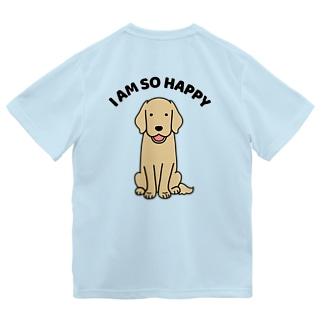 HAPPY(背面) Dry T-Shirt