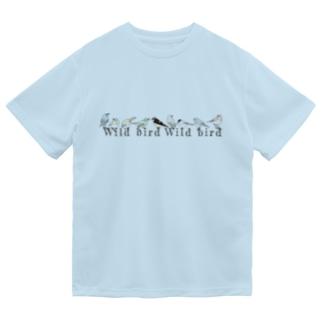 野鳥 Dry T-Shirt