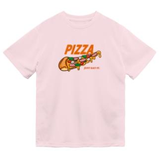 PIZZA [パロディ] Dry T-shirts