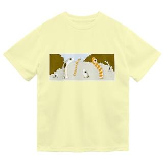 ちん&にしきあなごさん Dry T-Shirt