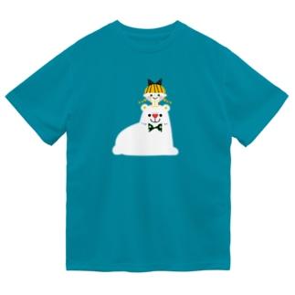 SHIROKUMA GIRL ドライTシャツ