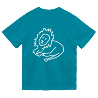 ライオン さん ドライTシャツ