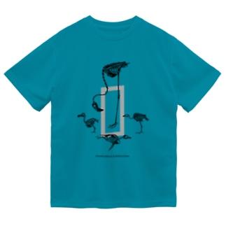 鳥のそれぞれ Dry T-Shirt